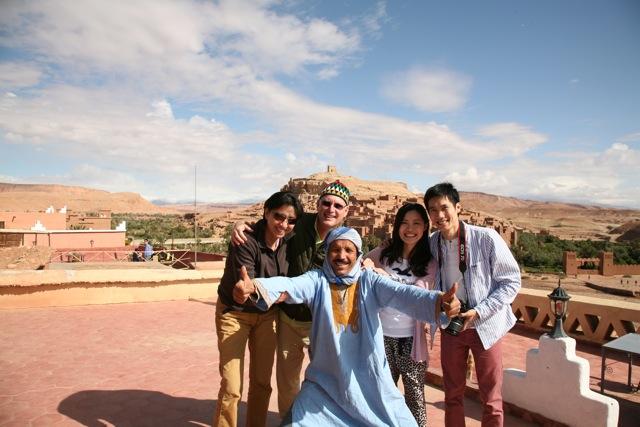 morocco tour client